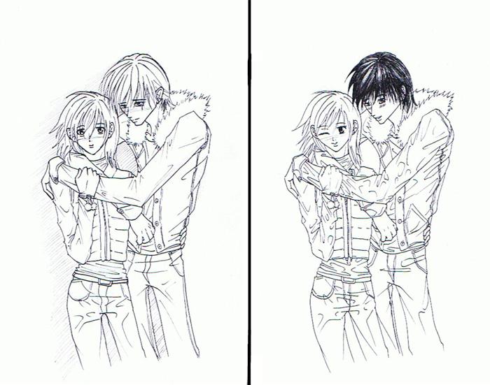 Supafan union gallery style 1413 - Dessin manga couple ...