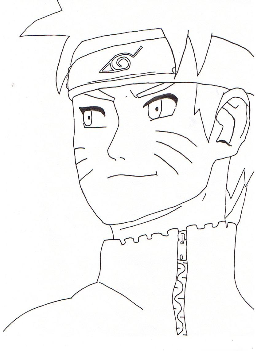 Dessin Manga Facile Naruto
